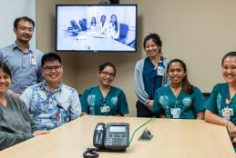 Hawaii Interprofessional Team Collaboration Simulation with Manoa and Hilo health sciences students